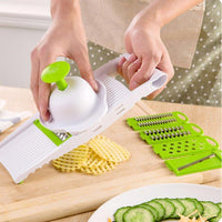5 in 1 Stainless Steel Blade Vegetables Cutter - TonyToyss.com