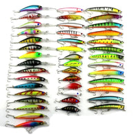 43 Pcs/set Mixed Fishing Lures - TonyToyss.com