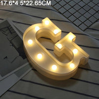 Decorations 26 English Alphabet LED Lamp - TonyToyss.com