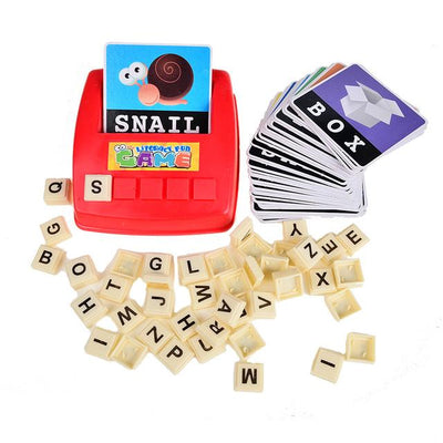 Alphabet Literacy Educational Game - TonyToyss.com