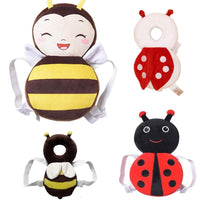 Baby Head Protection Pad - Cute Wings Headrest Pillow - TonyToyss.com