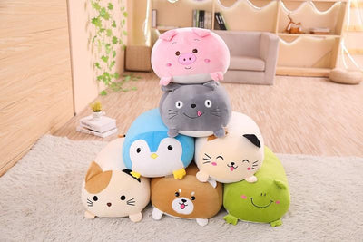 Animal Cartoon Pillow - TonyToyss.com