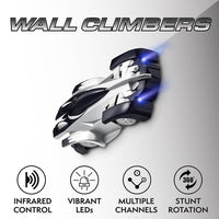 Remote Control Wall Climbing RC Car with LED Lights - TonyToyss.com