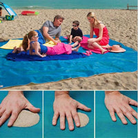 Magic Sand Free Beach Mat - TonyToyss.com