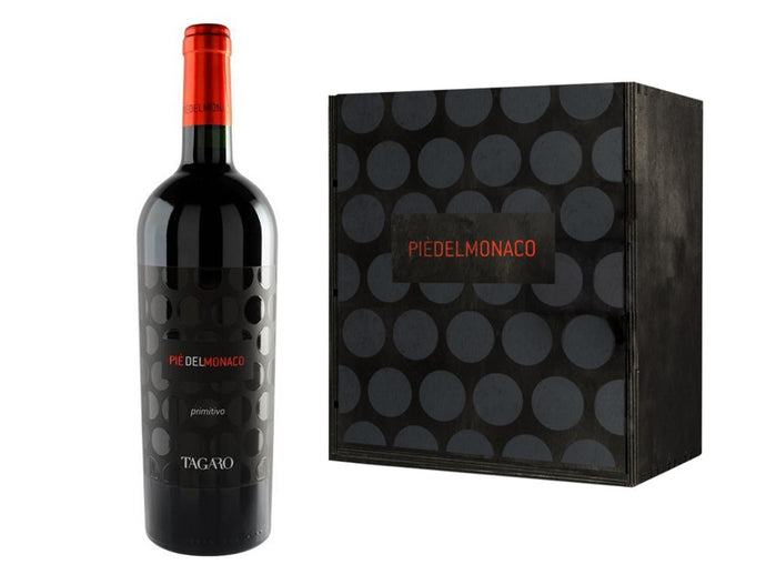 Tagaro - Pie del Monaco Grand Vintage 2015 Wooden Box