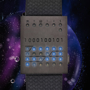 1000100101 LED Watch