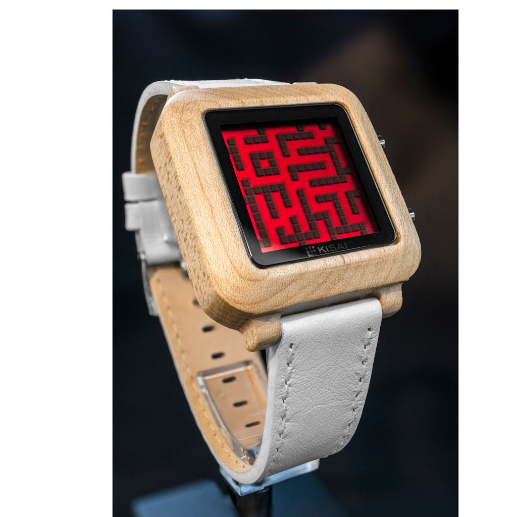 Wood Maze Red