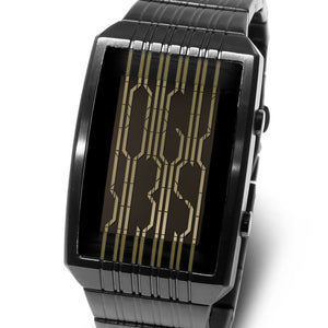 Online Motion Sensor LCD Watch