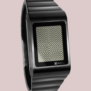 Optical Illusion LCD Watch