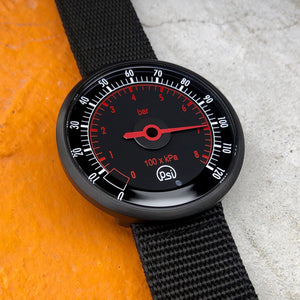 PSI Pressure Gauge Watch