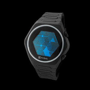 Quasar Silicone LCD Watch
