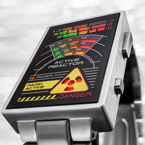 Radioactive LED Watch