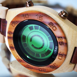 Rogue SR2 Wood LCD Watch