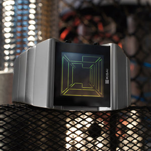 Space Digits LCD Watch