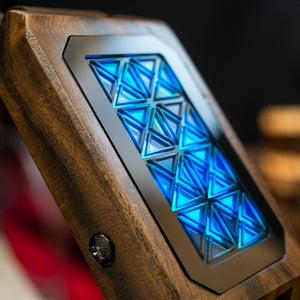 Adjust Wood LED Watch
