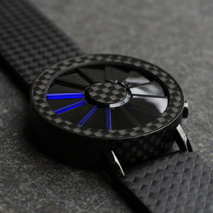Blade Carbon Fiber LED Watch