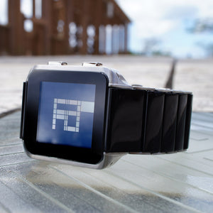 Logo Binary LCD Watch