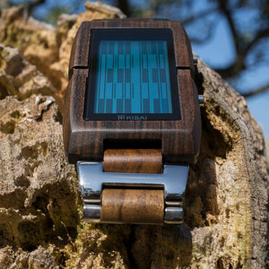 Upload Wood USB Memory LCD Watch