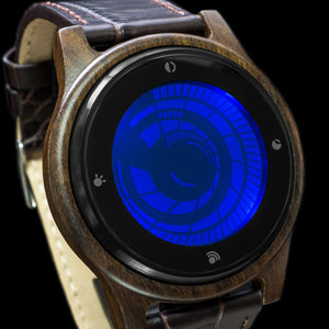 Vortex Wood LCD Watch
