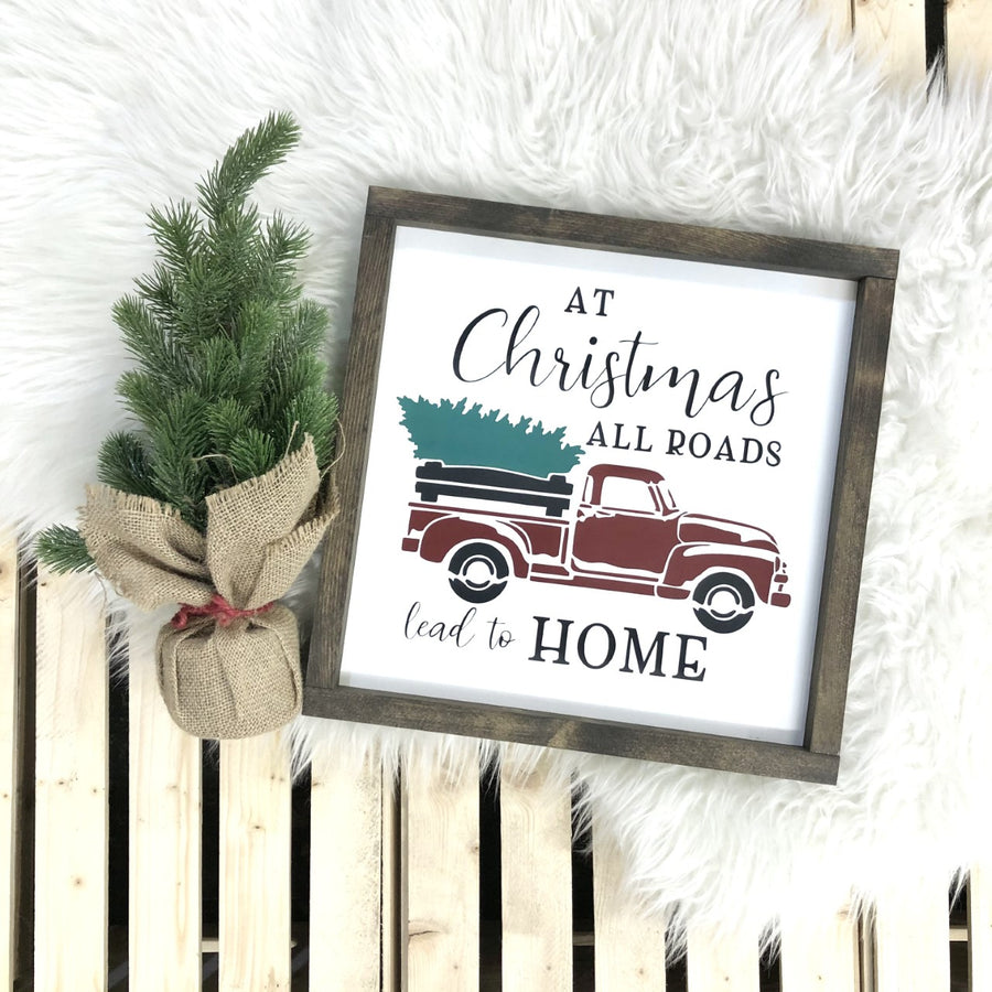 At Christmas All Roads Lead to Home