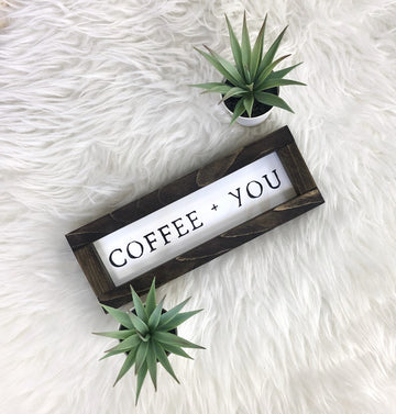 Coffee + You