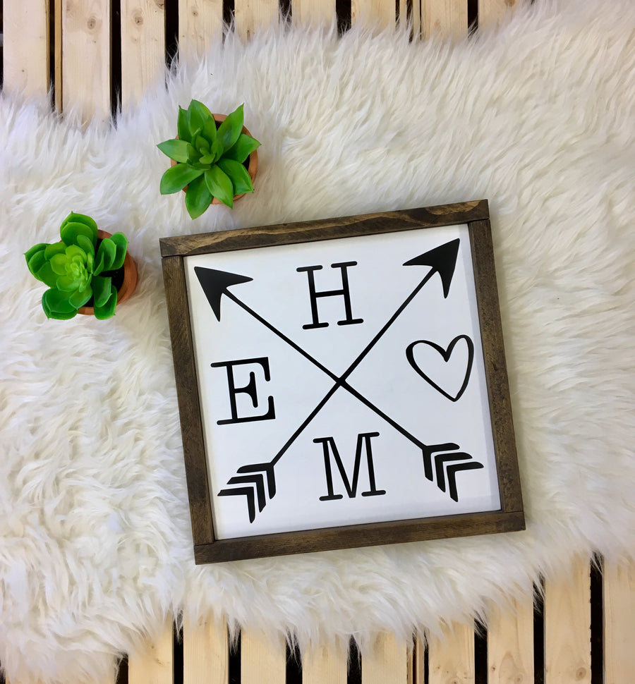 Home {crossed arrows} - Wooden Arrow Designs