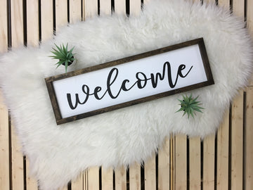 Welcome {cursive}
