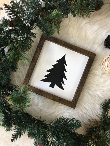 Christmas Tree {silhouette}