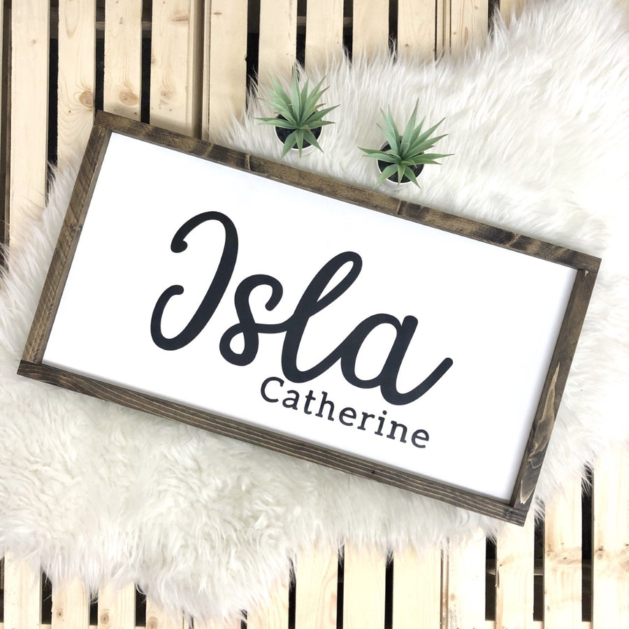 Custom Kid's Name Sign