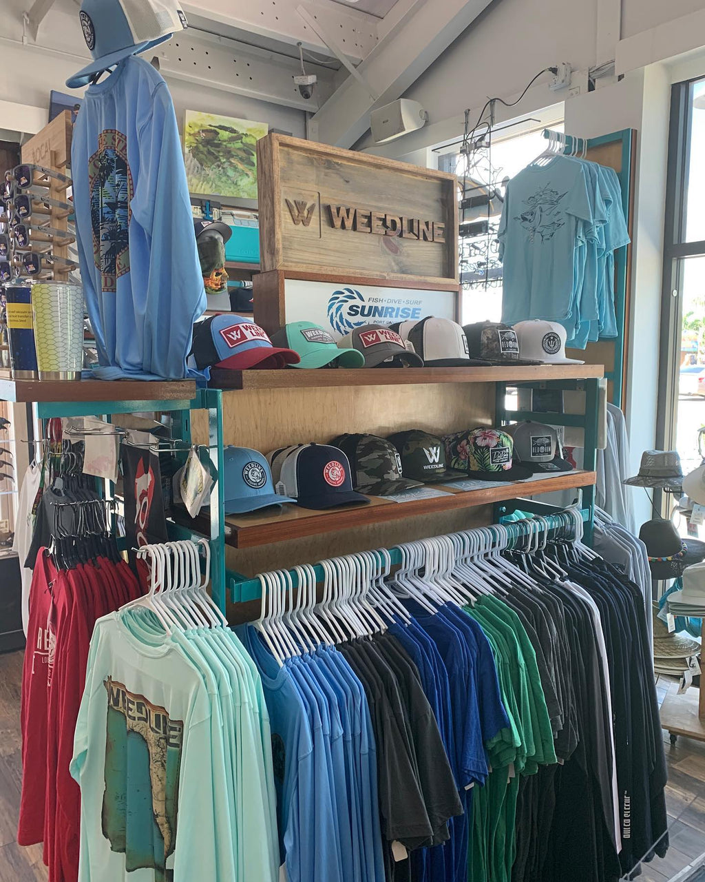 Weedline Fishing Apparel, Port Canaveral, Cocoa Beach