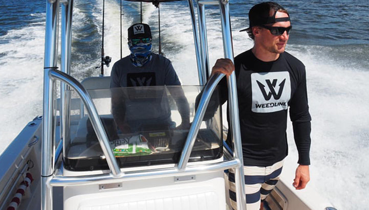 Weedline Fishing Apparel, Weedline Tropical Vibestyle Apparel