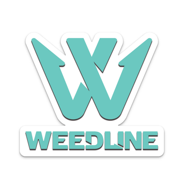 Weedline SeaFoam Dye Cut Sticker