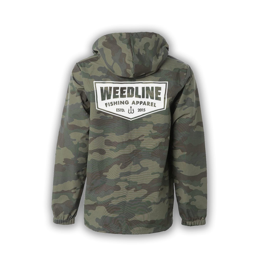 "//The Camo ""Old Skool""// Water and Wind Resistant Captain's Jacket"