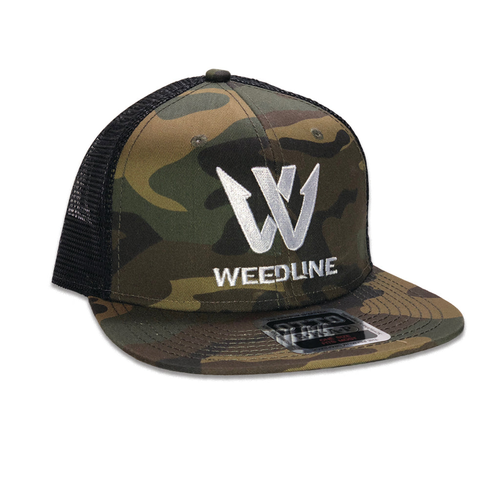"Weedline Fishing Apparel: Camo ""Cognito"" Hat"