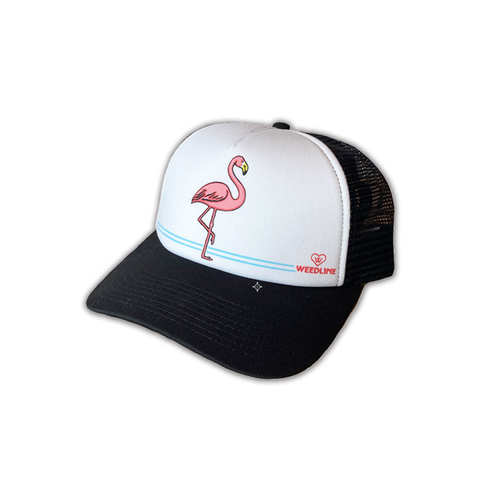 Weedline Fishing Apparel, Flamingo Hat