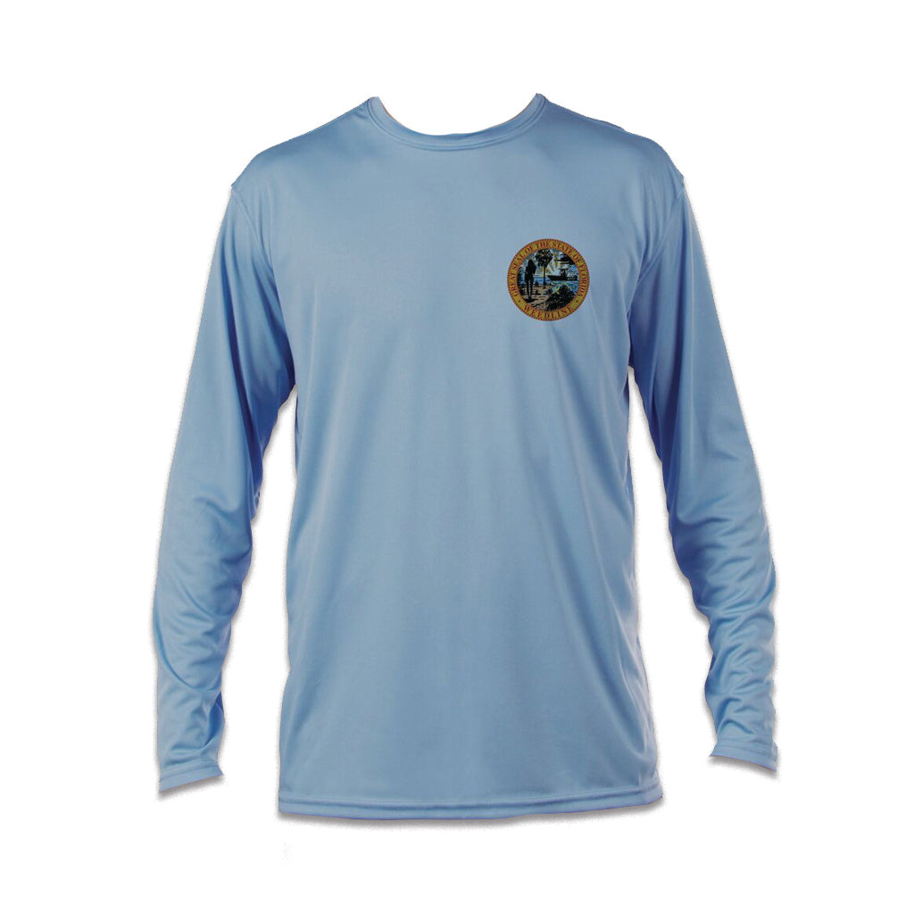 Weedline Fishing Apparel:Performance UPF UVA/UVB Long Sleeve Shirt