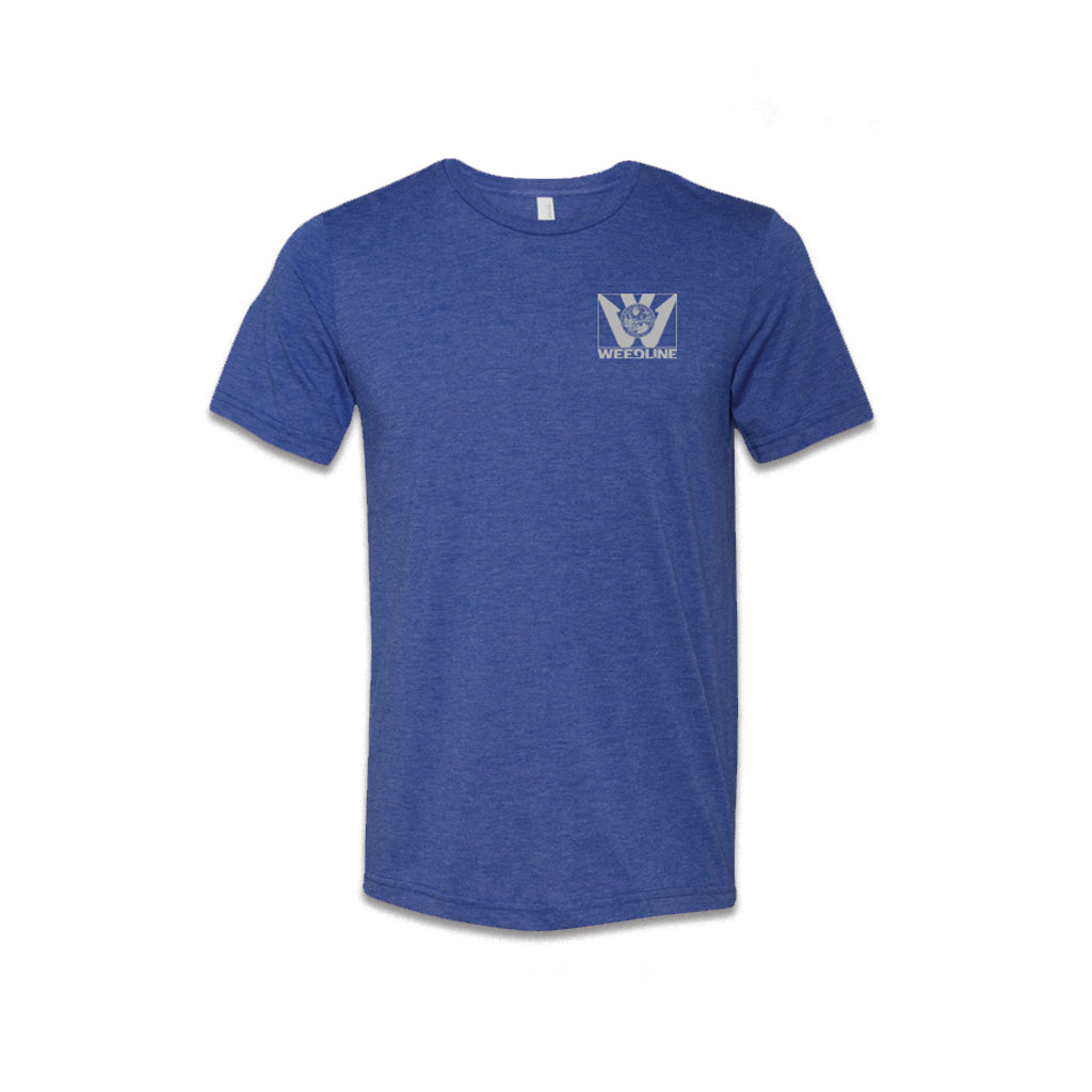 Weedline Fishing Apparel, Ultra Soft, Blue Florida Flag T