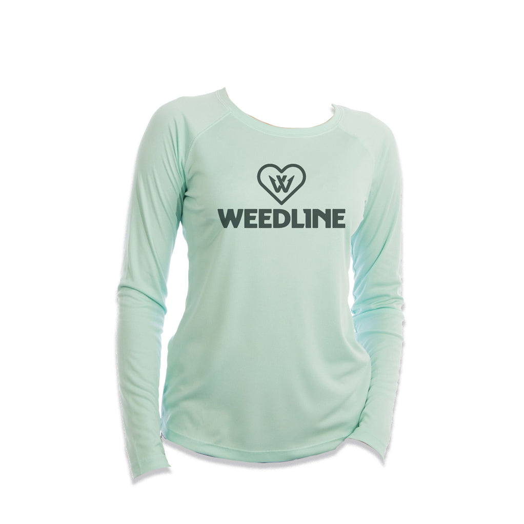 Weedline Ladies Performance UVA UVB Long Sleeve Shirt
