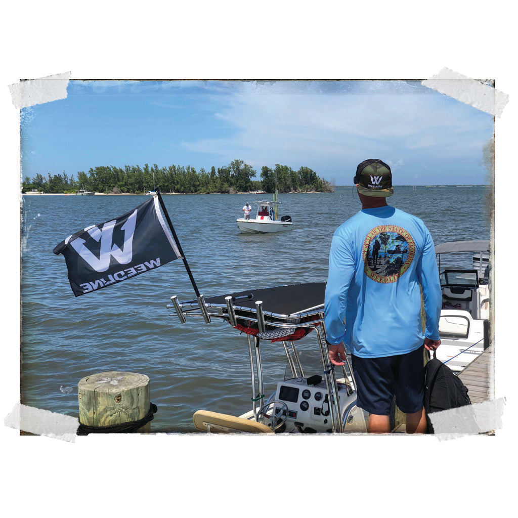 Weedline Fishing Apparel: Tropical Spirit Vibestyle Fishing Apparel