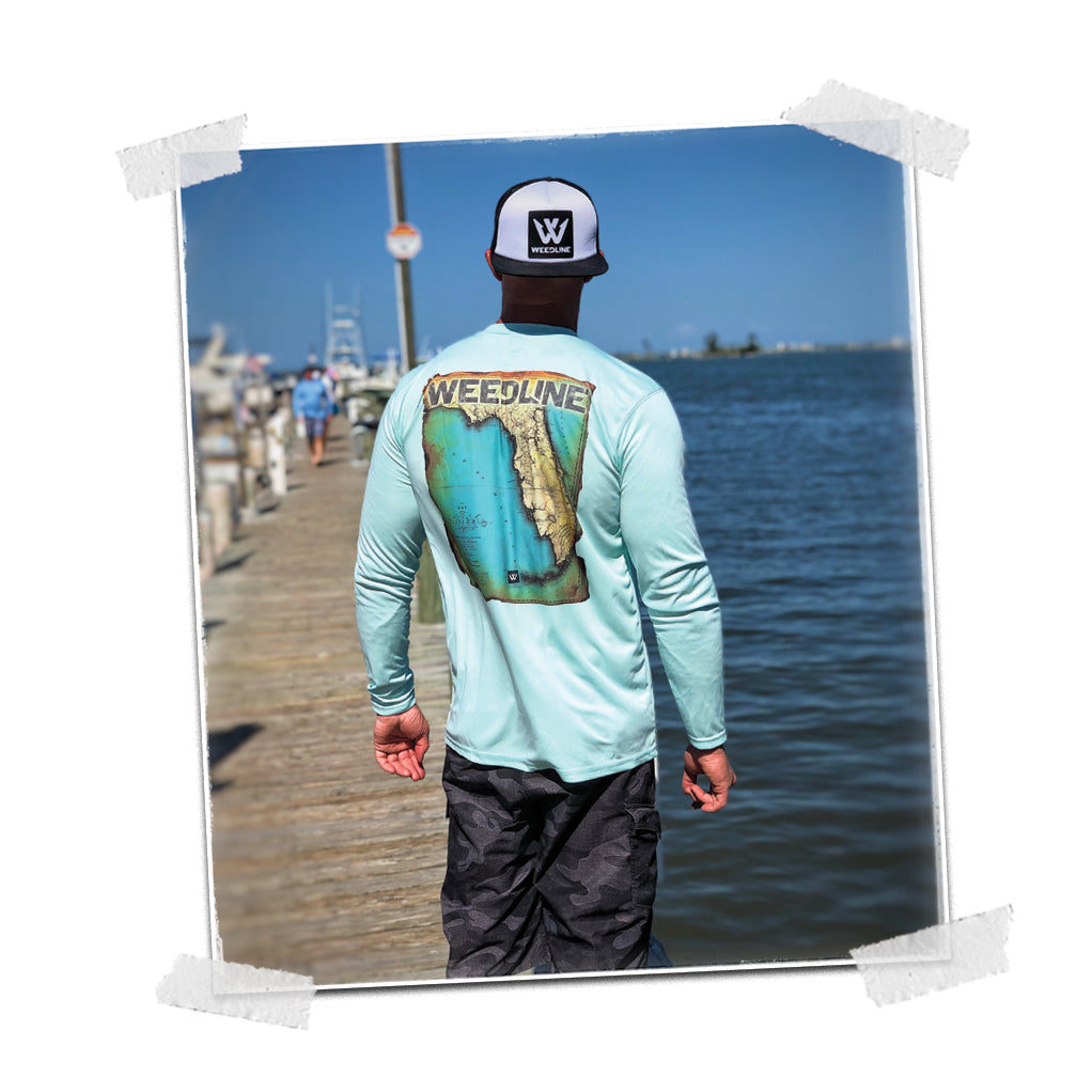 Weedline Tropical Spirit Vibestyle Fishing Apparel