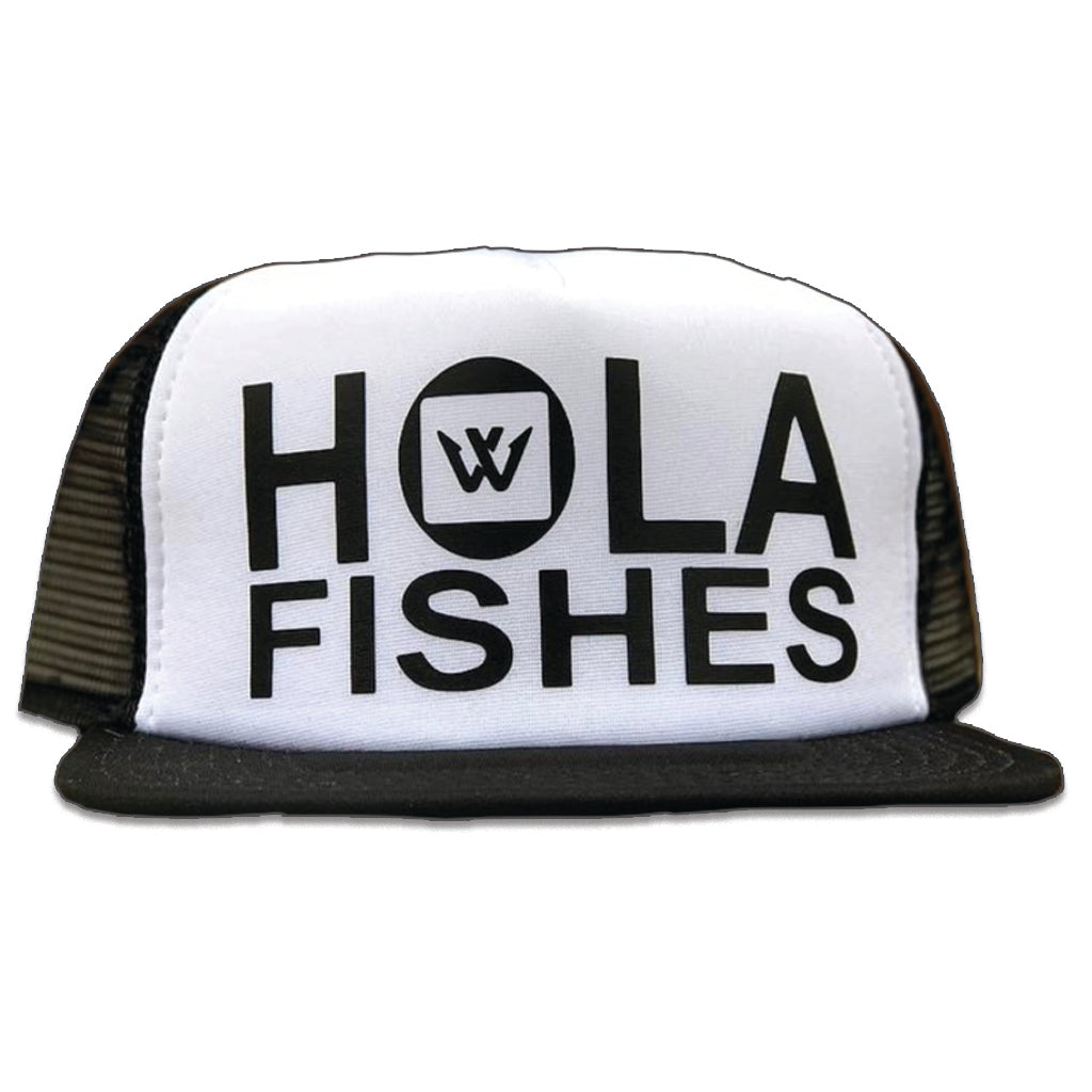 """Hola Fishes"" Hat (Back Order Until Middle of March)"