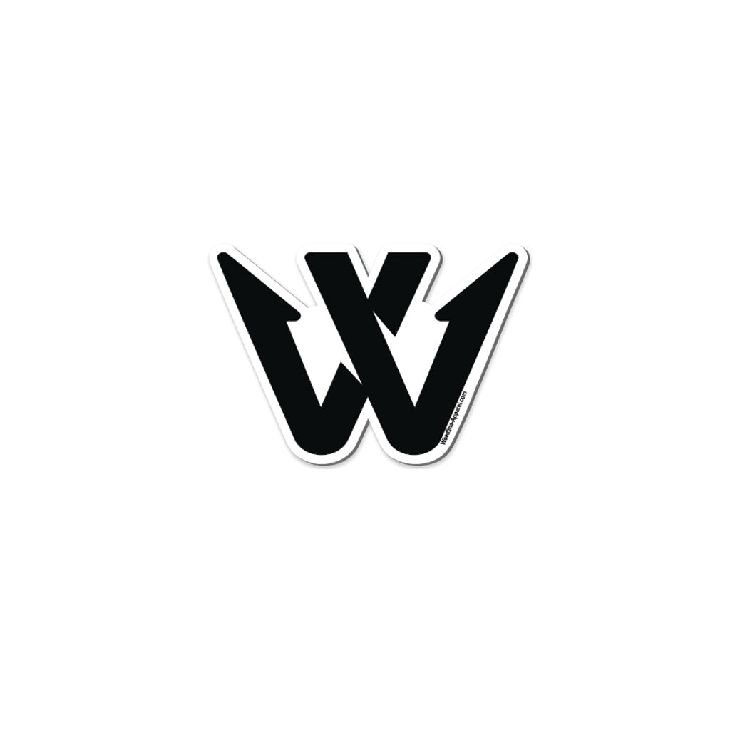 Weedline Fishing Apparel- W Logo Sticker