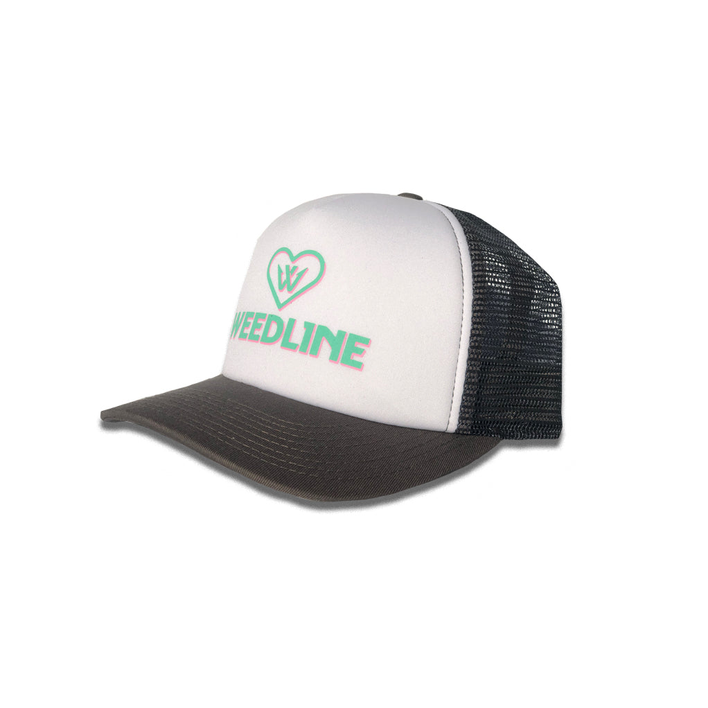 Weedline Fishing Apparel: Ladies Logo Trucker Hat