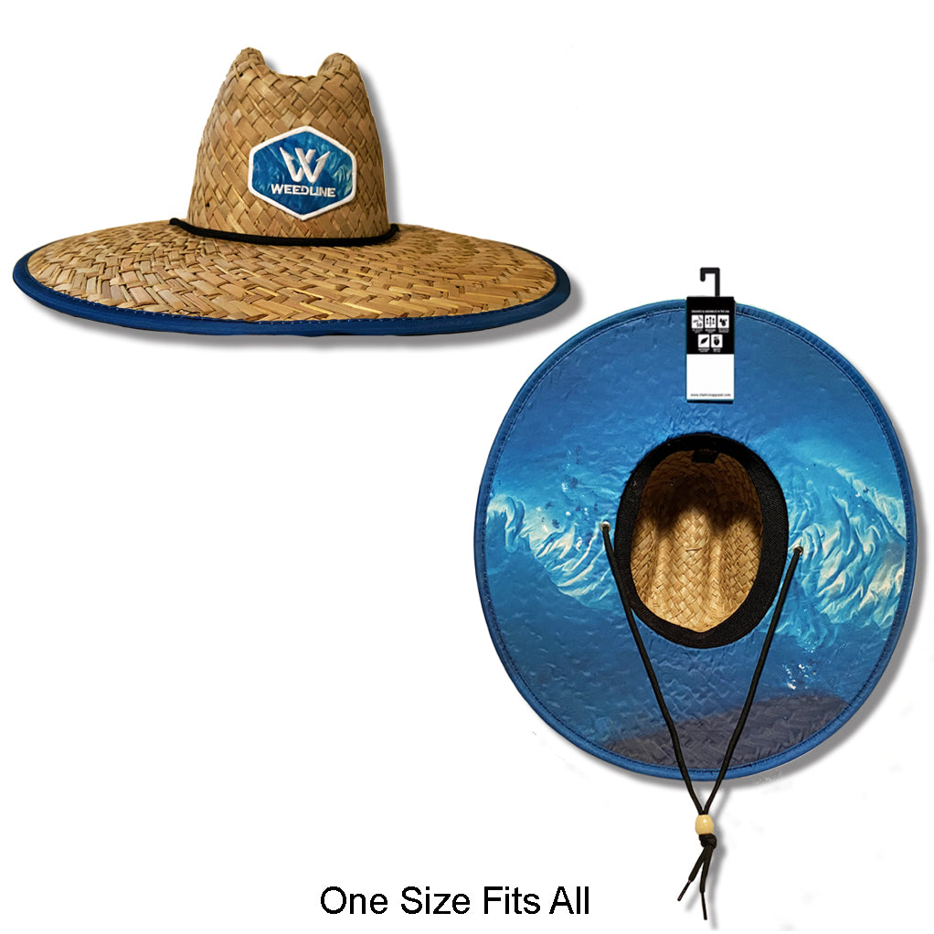 "Weedline ""Lazy Daze"" Straw Hat (On Back Order until August)"