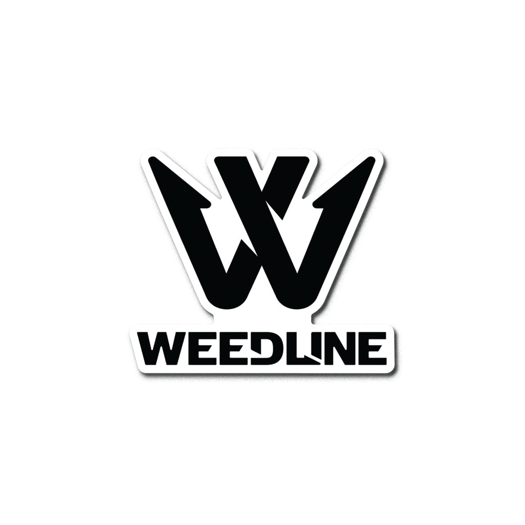 "Weedline ""Logo"" Dye-Cut Sticker"