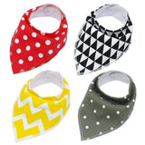 4pcs Adjustable Puppy Cat Bandana Collars Pet Scarf Neckerchief-collar-Red-Free size-Pet Kisses