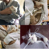 Cat Lovers Kangaroo Pouch Hoodie-wearable-Pet Kisses