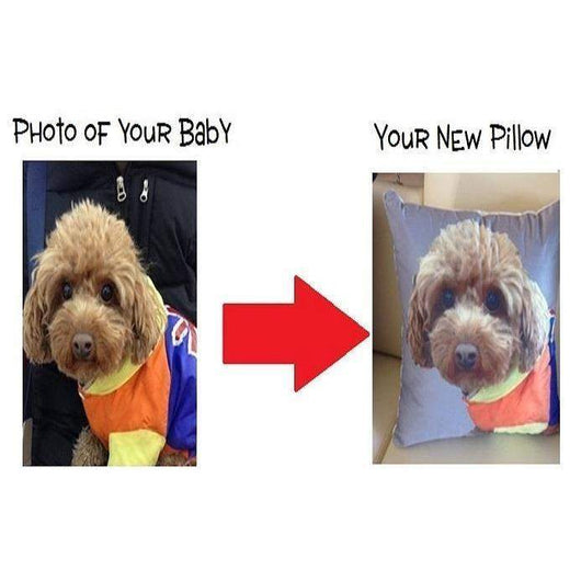 Customize 3D Pet Pillow-Pillow-Pet Kisses