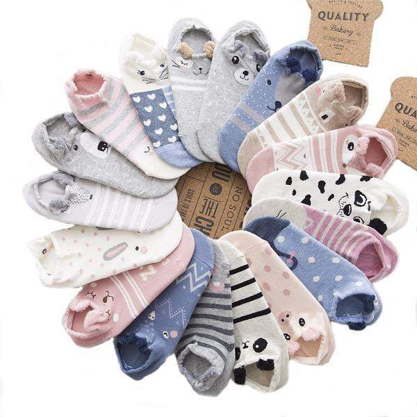 Cute Animal Cotton Socks-socks-Pet Kisses