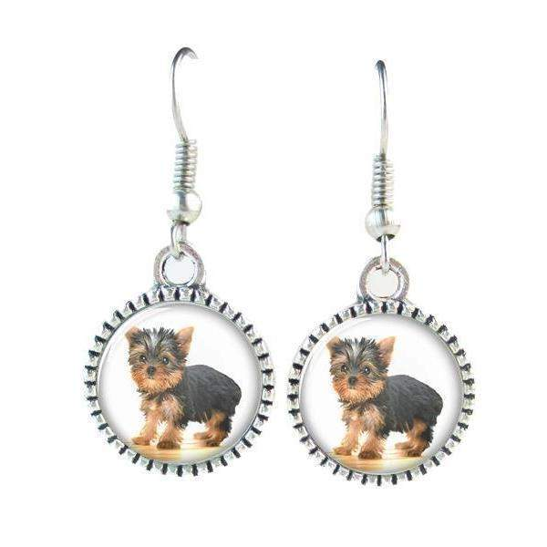 Dog Earrings - Eight Different Types-earring-1-Pet Kisses
